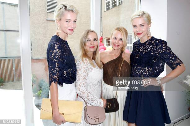 Julia Meise Regina Halmich Sonja Kiefer and Nina Meise attend the Gala Fashion Brunch during the MercedesBenz Fashion Week Berlin Spring/Summer 2018...