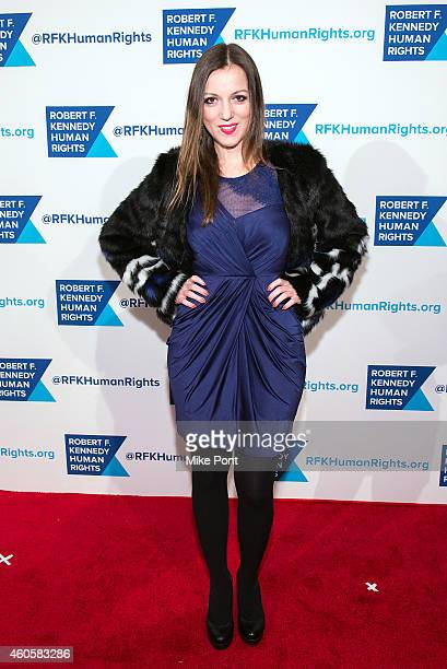 Julia Melim attends the 2014 Robert F Kennedy Ripple Of Hope Awards at the New York Hilton on December 16 2014 in New York City