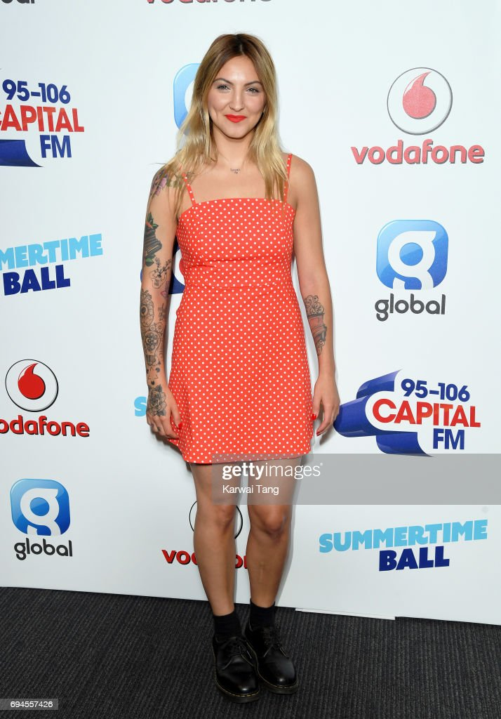 Julia Michaels attends the Capital Summertime Ball at Wembley Stadium on June 10, 2017 in London, United Kingdom.