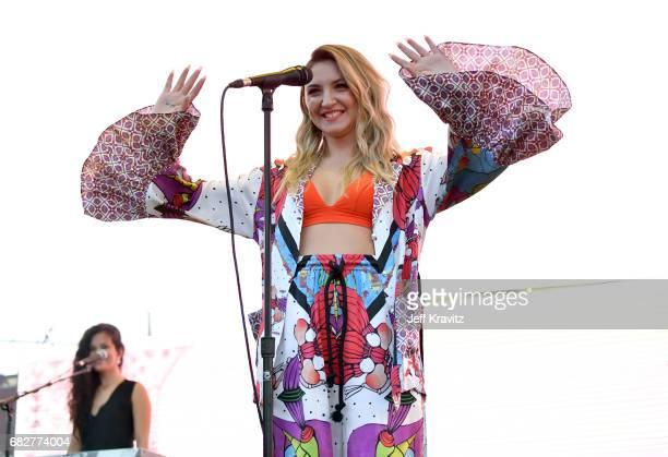 Julia Michaels performs onstage during 1027 KIIS FM's 2017 Wango Tango at StubHub Center on May 13 2017 in Carson California