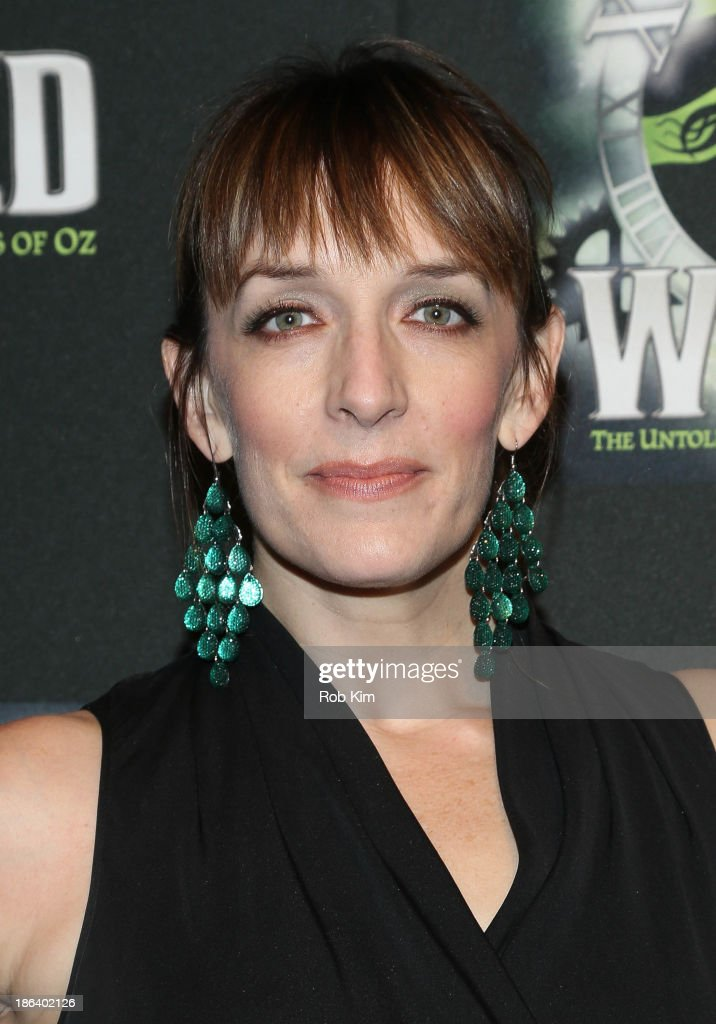 <a gi-track='captionPersonalityLinkClicked' href=/galleries/search?phrase=Julia+Murney&family=editorial&specificpeople=171553 ng-click='$event.stopPropagation()'>Julia Murney</a> attends the after party for the 'Wicked' 10th anniversary on Broadway at The Edison Ballroom on October 30, 2013 in New York City.