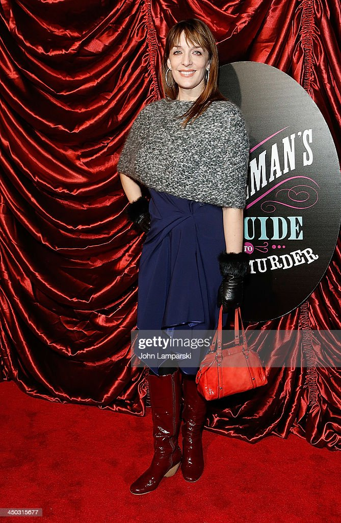 Julia Murney attends the Broadway opening night of 'A Gentleman's Guide to Love and Murder' at Walter Kerr Theatre on November 17 2013 in New York...