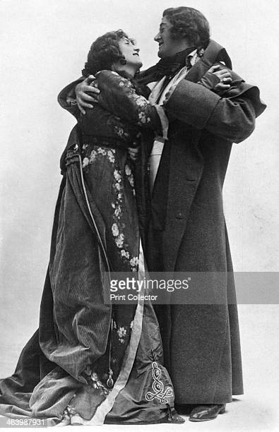 Julia Neilson and Fred Terry in The Scarlet Pimpernel c1905 Terry and Neilson starred in the play set during the French Revolution at London's New...