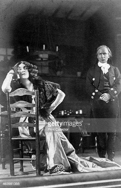 Julia Neilson and Horace Hodges in The Scarlet Pimpernel c1905 Neilson and Hodges starred with Fred Terry in the play set during the French...
