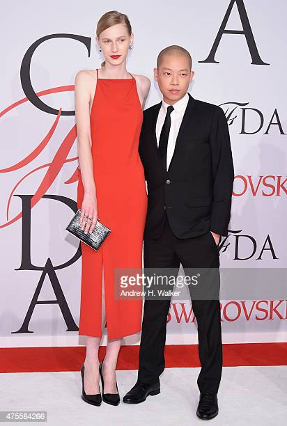 Julia Nobis and Jason Wu attend the 2015 CFDA Fashion Awards at Alice Tully Hall at Lincoln Center on June 1 2015 in New York City