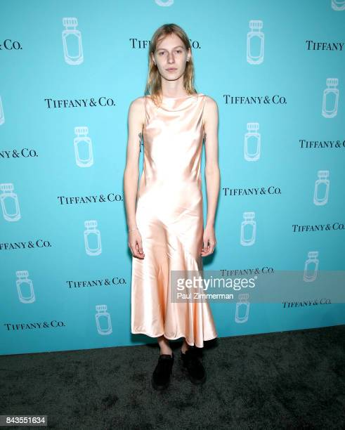 Julia Nobis attends the Tiffany Co Fragrance Launch at Highline Stages on September 6 2017 in New York City
