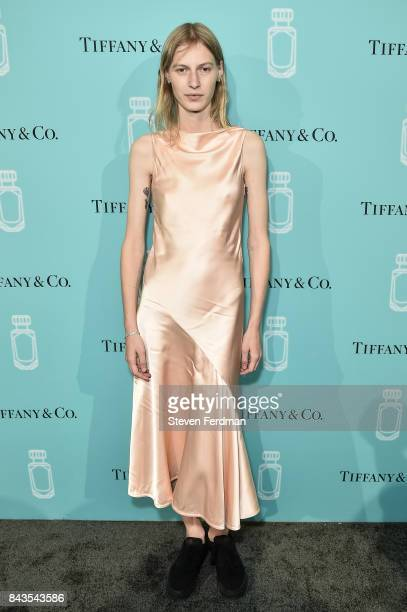 Julia Nobis attends the Tiffany Co Fragrance launch event on September 6 2017 in New York City