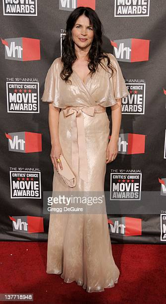 Julia Ormond arrives at The 16th Annual Critics' Choice Movie Awards at the Hollywood Palladium on January 14 2011 in Hollywood California