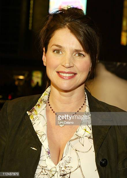 Julia Ormond during Los Angeles Premiere of 'Iron Jawed Angels' Red Carpet at El Capitan Theatre in Hollywood California United States