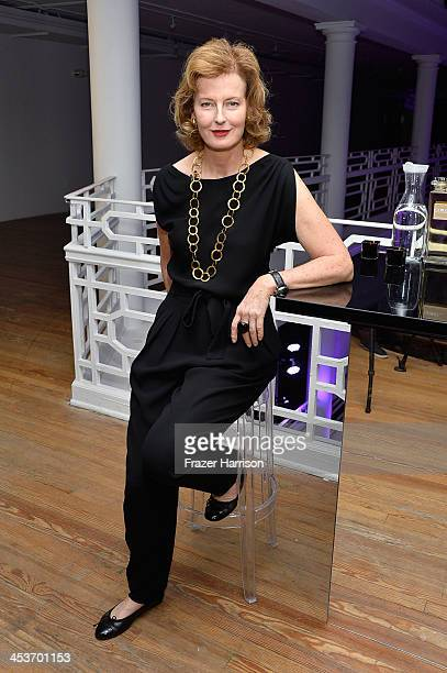 Julia Peyton Jones attends Surface Magazine's DesignDialogues No 6 With Hans Ulrich Obrist Kanye West And Jacques Herzog at Moore Building on...