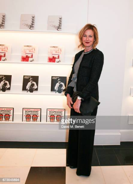 Julia Peyton Jones attends the opening of Galerie Thaddaeus Ropac London on April 26 2017 in London England