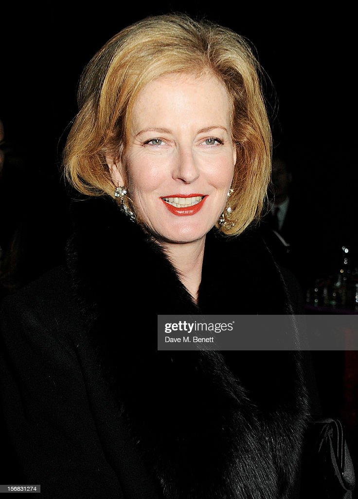 Julia Peyton-Jones arrives at the Zeitz Foundation and ZSL Gala at London Zoo on November 22, 2012 in London, England.