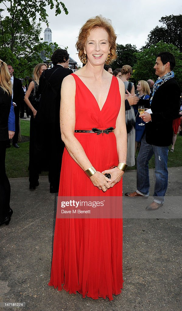 Julia Peyton-Jones attend The Serpentine Gallery Summer Party sponsored by Leon Max at The Serpentine Gallery on June 26, 2012 in London, England.