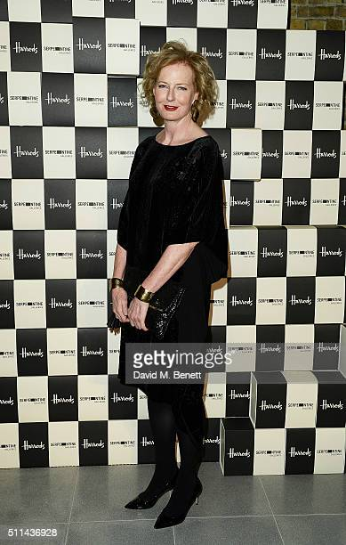 Julia PeytonJones attends the Serpentine Future Contemporaries x Harrods Party 2016 at The Serpentine Sackler Gallery on February 20 2016 in London...