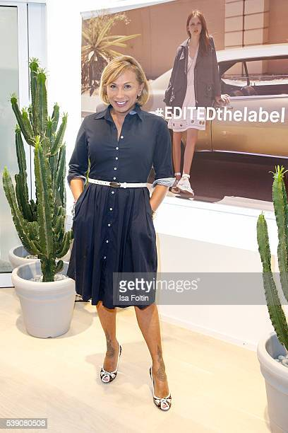 Julia Prillwitz attends the EDITEDthelabel Store Event on June 9 2016 in Munich Germany