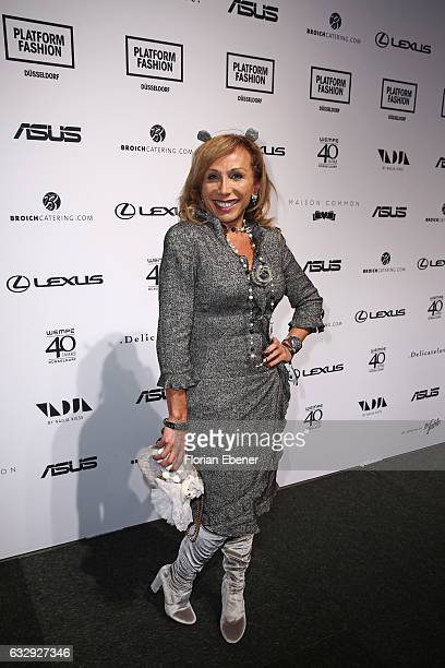 Julia Prillwitz attends the PF Selected show during Platform Fashion January 2017 at Areal Boehler on January 28 2017 in Duesseldorf Germany