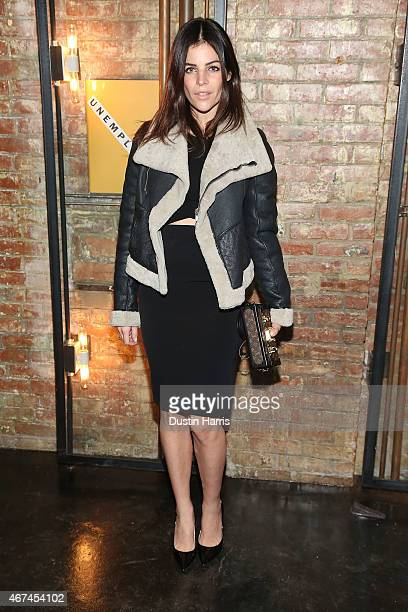 Julia Restoin attends The Unemployed Magazine Launch at Private Residence on March 24 2015 in New York City