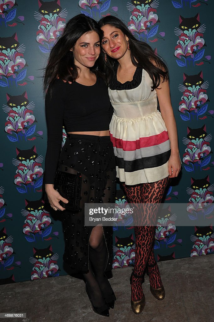 Julia Restoin Roitfeld and Arden Wohl attend Miu Miu Women's Tales 7th Edition - 'Spark & Light' Screening - Arrivals at Diamond Horseshoe on February 11, 2014 in New York City.