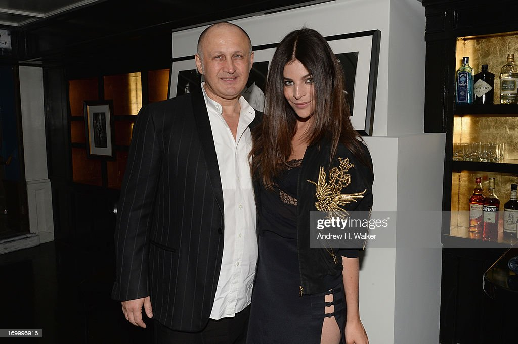 Julia Restoin Roitfeld and Cesare Casadei attend the Casadei dinner at Omar's, hosted by Julia Restoin Roitfeld and Cesare Casadei celebrating Resort 2014 at on June 5, 2013 in New York City