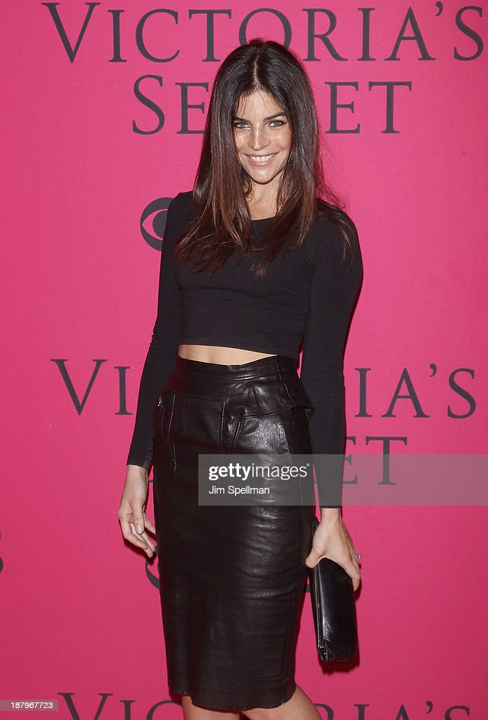 Julia Restoin Roitfeld attends the 2013 Victoria's Secret Fashion Show at Lexington Avenue Armory on November 13, 2013 in New York City.