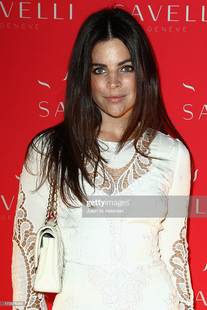 Julia Restoin Roitfeld attends the Founder And CEO Alessandro Savelli And Contemporary Style Icon Julia Restoin Roitfeld Launch SAVELLI The World's First Luxury Smart Phone Especially For Women During Haute Couture Week at Musee Jacquemart-Andre on July 3, 2013 in Paris, France.