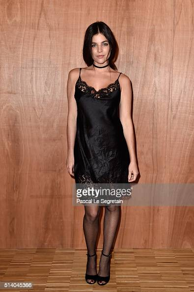 Julia Restoin Roitfeld attends the Givenchy show as part of the Paris Fashion Week Womenswear Fall/Winter 2016/2017 on March 6 2016 in Paris France