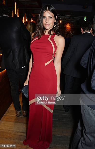 Julia Restoin Roitfeld attends the Jinjuu launch dinner Kingly Street at Jinjuu on January 22 2015 in London England