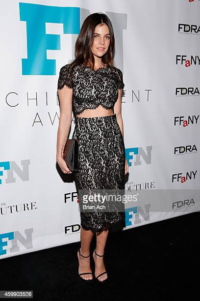 Julia Restoin Roitfeld attends the The Footwear News Achievement Awards on December 3 2014 in New York City