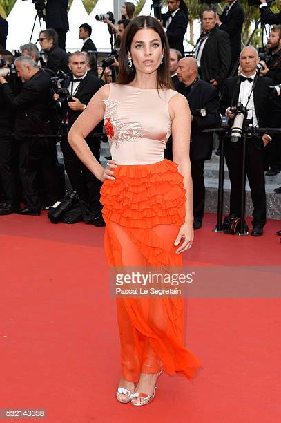Julia Restoin Roitfeld attends 'The Unknown Girl ' Premiere during the 69th annual Cannes Film Festival at the Palais des Festivals on May 18 2016 in...