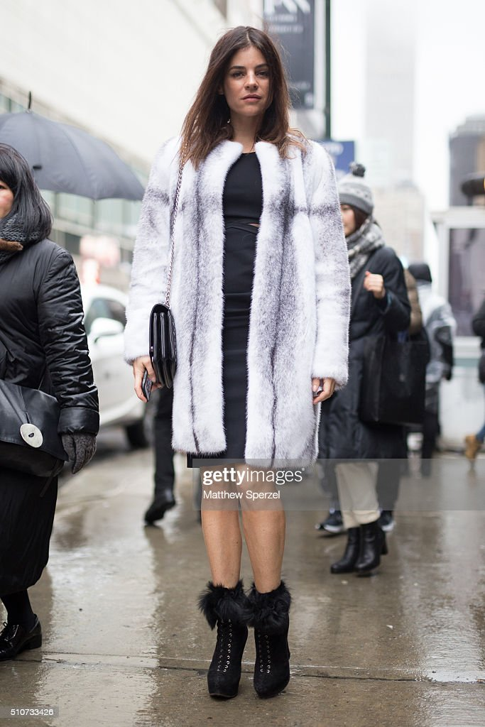 Street Style - Day 6 - New York Fashion Week: Women's Fall/Winter 2016
