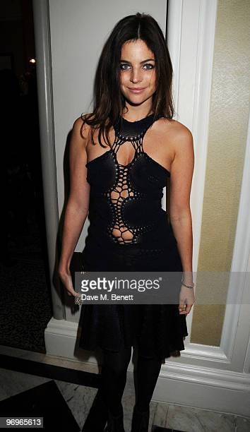 Julia RestoinRoitfeld arrives at the ELLE Style Awards 2010 at the Grand Connaught Rooms on February 22 2010 in London England
