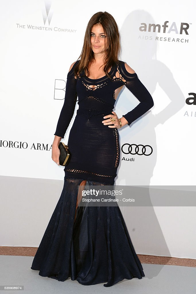Julia Restoin-Roitfeld attends the '2010 amfAR's Cinema Against AIDS' Gala - Arrivals