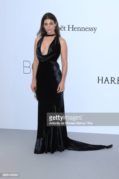Julia Reston arrives at the amfAR Gala Cannes 2017 at Hotel du CapEdenRoc on May 25 2017 in Cap d'Antibes France
