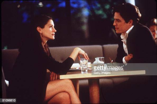 Julia Roberts And Hugh Grant Star In The Premiere Of 'Notting Hill'