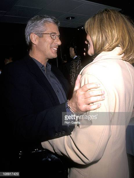 Julia Roberts and Richard Gere during 'Red Corner' New York City Premiere at Cinema 1 in New York City New York United States