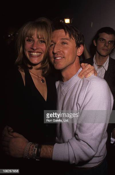Julia Roberts and Todd Oldham during 7th on Sixth Spring Fashion Show November 4 1997 at The Armory in New York City New York United States