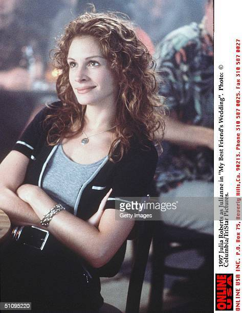 Julia Roberts As Julianne In 'My Best Friend's Wedding'