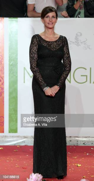 Julia Roberts attends 'Eat Pray Love' Premiere at The Space Moderno Cinema on September 16 2010 in Rome Italy