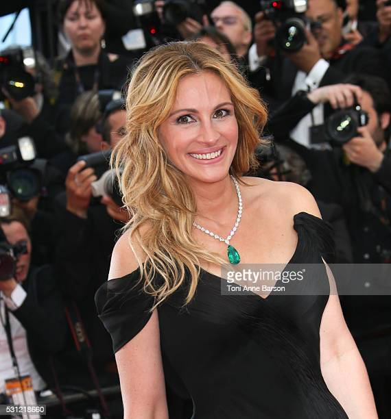 Julia Roberts attends the 'Money Monster' Premiere during the 69th annual Cannes Film Festival on May 12 2016 in Cannes France