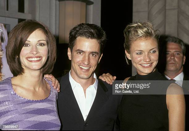 Julia Roberts Dermot Mulroney and Cameron Diaz