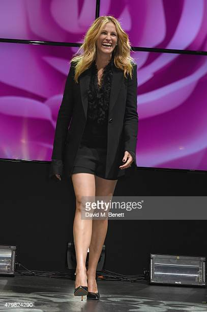 Julia Roberts during the Lancome Celebrates 80 Years of Beauty With All Its Ambassadresses on July 7 2015 in Paris France