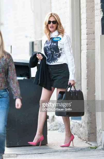 Julia Roberts is seen on May 05 2014 in Los Angeles California