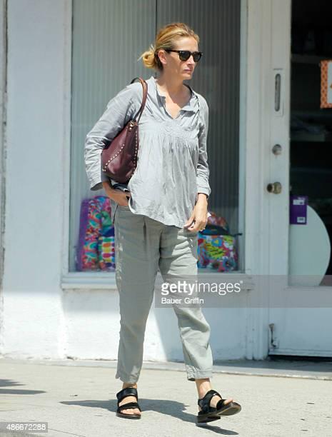 Julia Roberts is seen on September 04 2015 in Los Angeles California