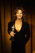 Julia Roberts look alike wax statue is already on display holding an Oscar at the Hollywood Wax Museum March 23 2001 in Hollywood California The...