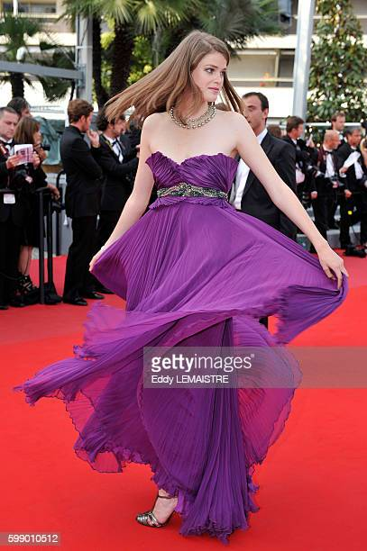 Julia Saner at the premiere of Poetry during the 63rd Cannes International Film Festival