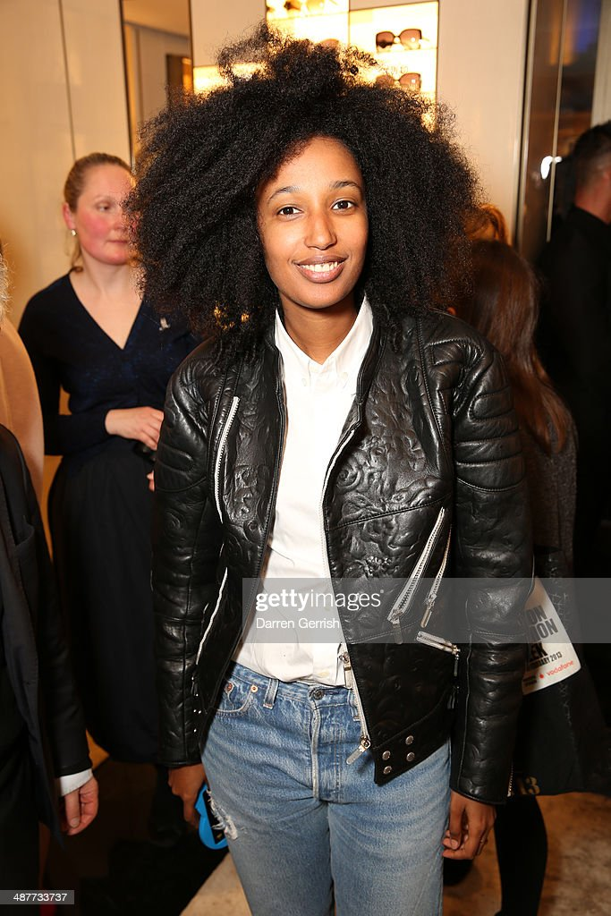 <a gi-track='captionPersonalityLinkClicked' href=/galleries/search?phrase=Julia+Sarr-Jamois&family=editorial&specificpeople=6243924 ng-click='$event.stopPropagation()'>Julia Sarr-Jamois</a> attends the Fendi Flagship store launch at Fendi on May 1, 2014 in London, England.
