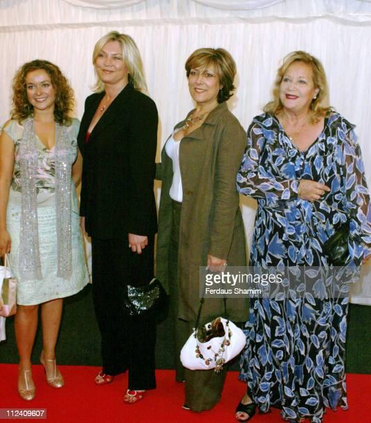 Julia Sawalha Amanda Redman Linda Bellingham and Sylvia Simms