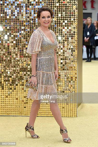Julia Sawalha attends the World Premiere of 'Absolutely Fabulous The Movie' at Odeon Leicester Square on June 29 2016 in London England