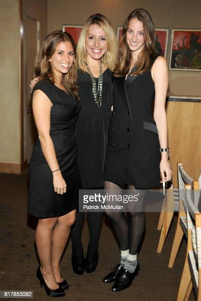 Julia Smith Jacquie Storey and Tracy Eisenman attend CHANEL and GQ Scent Dinner at Le Bernardin on October 7 2010 in New York City