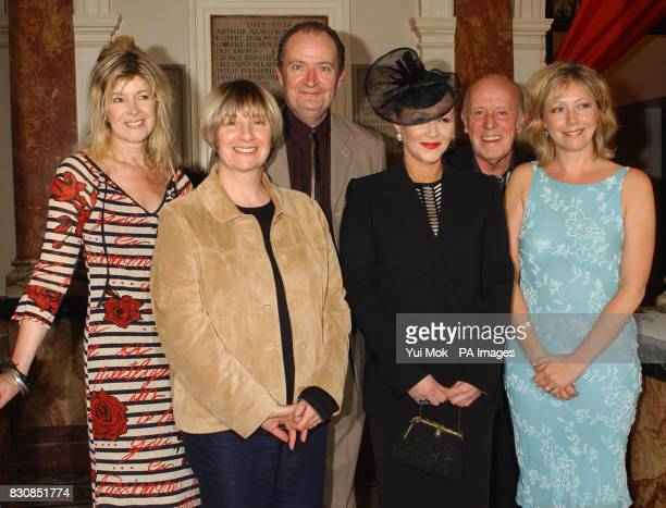 Julia Somerville Victoria Wood Jim Broadbent Frances Barber Richard Wilson and Karen Drury arriving at a fundraising gala to celebrate the 30th...